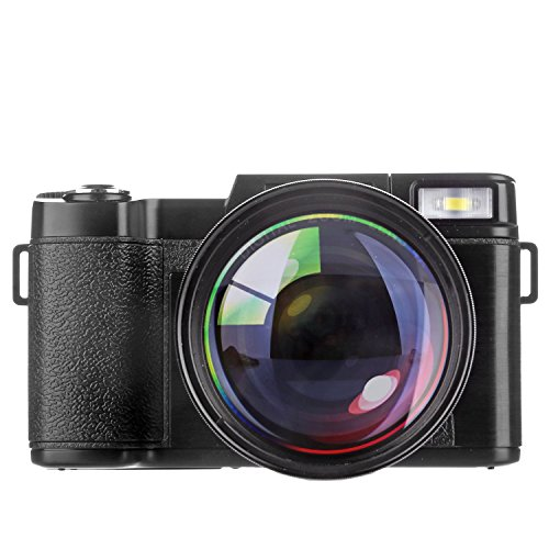 Galleria fotografica Fotocamera Digitale Compatta, Stoga Fotocamera 22 MP Digitale Con Zoom Digitale e Fotocamera Da 3,0 Pollici LCD Digital Video Camcorder Visione Notturna 720 HD Cyber-shot