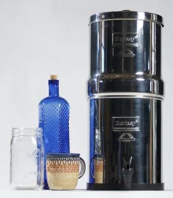 Berkey BK4X2-BB Big Berkey Stainless Steel Water Filtration System ... | {Getränkekühlschränke 44}