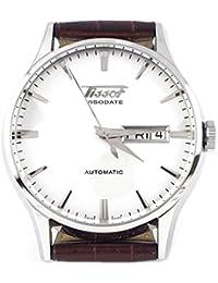 Tissot T0194301603101 - Reloj para hombres, correa de cuero color marrón