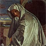 Poster 70 x 70 cm: St. Mary Magdalene Approaching the Sepulchre by Giovanni Girolamo Savoldo/Bridgeman Images art print, art poster