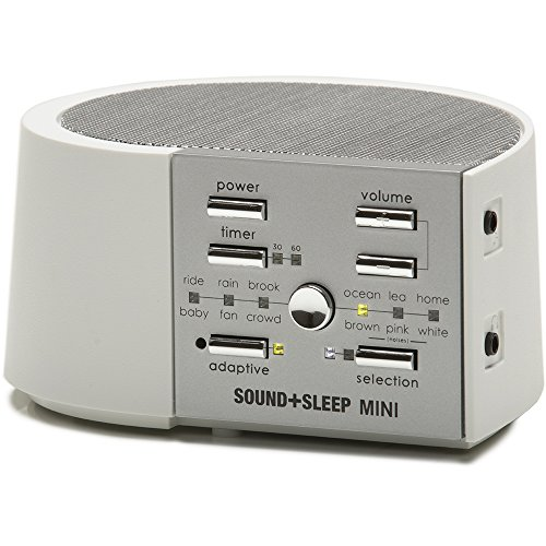 Sound Sleep Mini Therapy, White/Silver, 1.7 Pound by Sound Sleep