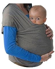 Idea Regalo - Fascia Porta Bebè - baby wrap ✮ Elastica porta Bambino ✮ Marsupio Fascia Neonato ● Tenere il bambino vicino al tuo Cuore