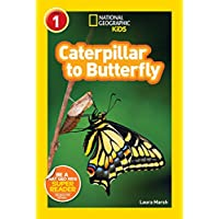 National Geographic Readers: Caterpillar to Butterfly (National Geographic Kids Readers: Level 1)