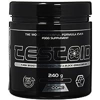 Xcore Nutrition, Testoid en Polvo, Suplemento Anabólico, Con Sabor a Limón, 240g, 26 dosis