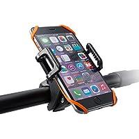TaoTronics Support Vélo Rotatif à 360 Degrés et Séparation en un clic Support Téléphone avec Bracelet en Caoutchouc pour Smartphone, GPS et d'Autres Appareils