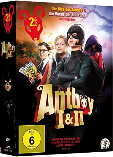 Antboy - Der Biss der Ameise & Antboy - Die Rache der Red Fury [2 DVDs] (Dvd Fury-film 2014)
