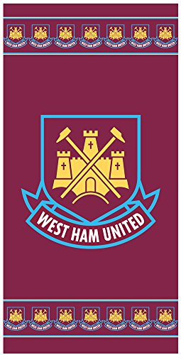 West Ham United Dreamtex - serviette de bain plage officiel football