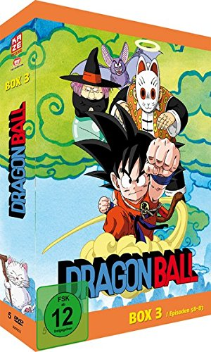 Dragonball - Box 3/6 (Episoden 58-83) [5 DVDs] (Anime-filme-set)