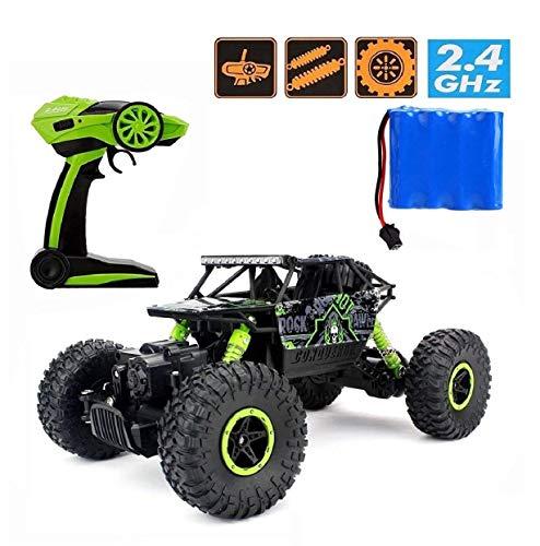 H&B HB HB-P1803 Rock Crawler,CrossRace Ferngesteuertes, 1:18 RC Auto,4WD Monster Truck/Off Road Fahrzeug(Grün), Grün1*