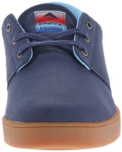 Emerica The Figueroa, Skateboard homme Bleu