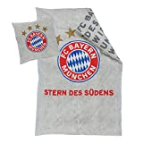 Bettwäsche FC Bayern München FCB + gratis Aufkleber