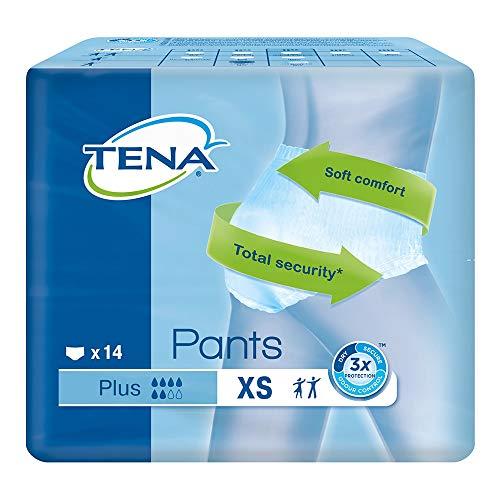 Mutandina elastica assorbente e traspirante Tena Pants Plus - XS
