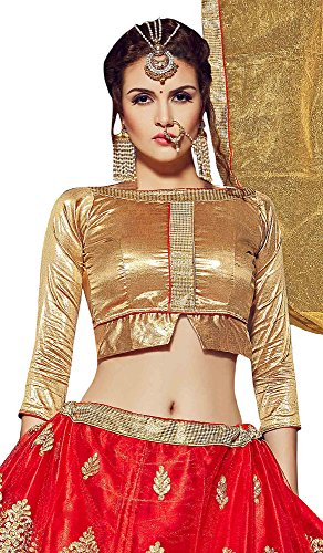 Aasvaa-Appealing-Womens-Embroidered-Net-Lehenga-Choli-With-Un-Stitched-Blouse-STVCT3A8102RedFree-Size