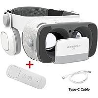 BOBOVR Z5 Pro 3D VR gafas Realidad Virtual con Auriculares Headset Gafas para Ver 3D Películas / Juegos Compatible Daydream Gamepad FOV120 IPD Focus Adjustablei Phone 6S / 6 Plus / 6 / 5S / 5C / 5 Samsung Galaxy S8/S8+ S5 / S6 / Nota4 / Nota5