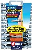 Plasplug MFA500 All-in-One Plugs includes Clip of 52