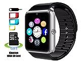 Smart Watch,SMARTER1 impermeabile intelligente Watch Phone per iphone 5s/6/6S e 4.2 telefoni Android o Sopra smart SMARTER √ Disclaimer:Questo orologio è più adatto per il telefono Android di iPhone,quindi si raccomanda che si dovrebbe notare...