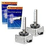 2x D1S Xenonbrenner Gasentladungslampe 4300K Kelvin k 85V 35W PK32d-2 Brenner Xenon Licht KFZ Autolampe Birne Lampe 4300K