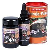 Robert Franz OPC 133 (60 Kapseln) + Vitamin D3 50ml + Acerola-Pulver Vitamin C 175gr - SPARPAKET