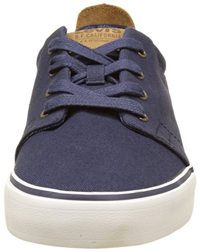 Levi's Justin, Baskets Basses Homme Bleu (Dark Blue)