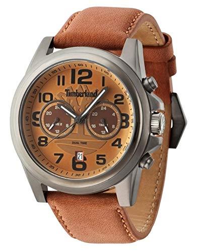 Timberland Homme Analogique Quartz Montre avec Bracelet en Cuir TBL.14518JSU-20