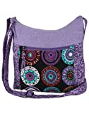 Anekaant Seventh Sense Women Polyester Brown and Multicolor Sling bag best price on Amazon @ Rs. 649