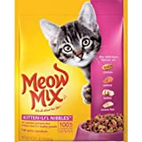 Meow Mix Kitten Li'l Nibbles Dry Cat Food, 18-Ounce (Pack of 6) by Meow Mix
