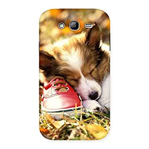 Delighted Cute Sleeping Puppy Back Case Cover for Galaxy Grand Neo Plus