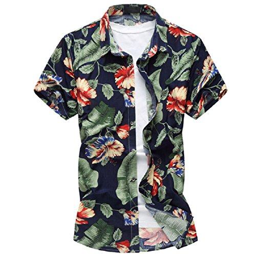 mens-hawaiian-shirt-funky-short-sleeves-casual-flower-pattern-holiday-beach-shirts-slim-fit-xs-xxxl