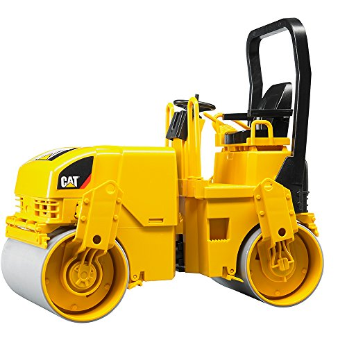 Image of Bruder 02433 Caterpillar Asphalt Drum Compactor