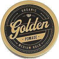 Golden Beards 100ML Pomada para el pelo Orgánica y Natural con BASE DE ACEITE Y CERA 100 ml