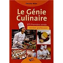 Le Génie Culinaire - Bts Première Annee - Professeur