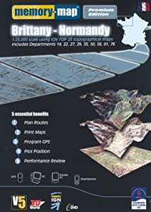 Memory Map Brittany Normandy Premium (PC)
