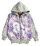 #10: Come In Kids Girls Kids Full Sleeve Winter Wear Printed Sweatshirt