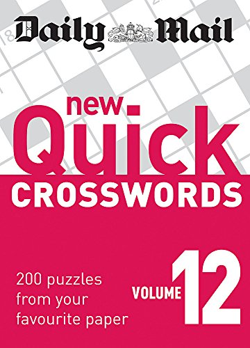 Daily Mail: New Quick Crosswords 12 (The Daily Mail Puzzle Books)