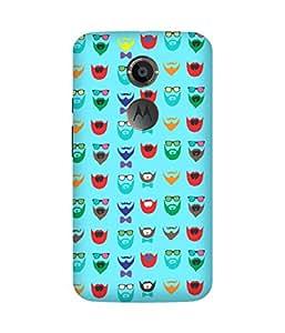 Beard Colour-48 Motorola Moto X Case