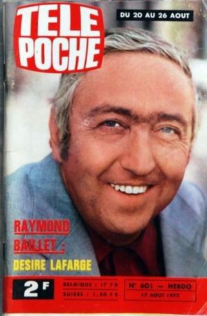 TELE POCHE N? 601 du 17-08-1977 RAYMOND BAILLET - DESIRE LAFARGE - MICHEL DELPECH DANS COMMENT RAVIR UN PRINCE CHARMANT - DE PREVOT ET PADOVAN - AVEC T. BUSSELIER - CH. CHIREIX - ERIC SEBIRE - A. MONTISSON - ERIC MONTAL - STANLEY BORA - A. FONTAINE ET F. GUILLAUM