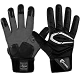 Best Football Lineman Gloves - Cutters The Force 2.0 Lineman Gloves - Black Review
