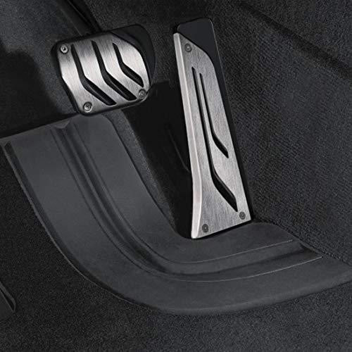 BMW MPerformance Pedalauflagen Edelstahl. Für Fahrzeuge mit Automatikgetriebe (SA205) oder mit Sport-Automatikgetriebe (SA2TB).