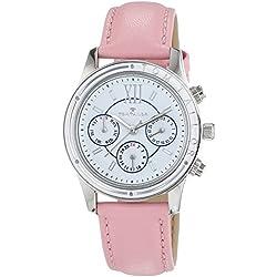 TOM TAILOR Damen-Armbanduhr Analog Quarz Leder 5413703