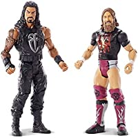 WWE Toy - Roman Reigns and Daniel Bryan Action Figure - Raw Smackdown Wrestling