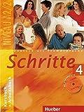 Schritte: Kurs- Und Arbeitsbuch 4 MIT CD Zum Arbeitsbuch by Andreas Tomaszewski, Franz Specht, Dorte Weers, Monika Reimann (2005-02-03)