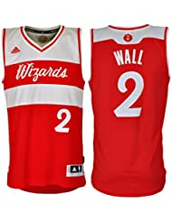 8982fcf4fec Adidas Washington Wizards John Wall 2 XMAS Swingman NBA Jersey Vest