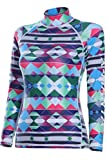 Rash Guard Top Women Long Sleeve Beachwear Surfing Sailing Tops