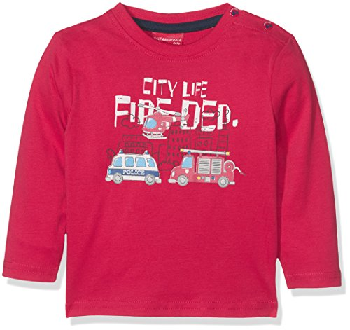Salt & Pepper B Longsleeve Little Hero Print, T-Shirt Manches Longues Bébé Garçon Salt & Pepper