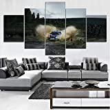 mmwin Moderne HD Gedruckt Wand Kunstwerk Leinwand Modulare Bilder 5 Stücke Extreme Sports Home...