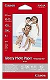 Canon Fotopapier, 100 Blatt 10 x 15, Glänzend, Glossy Photo Paper Everyday 210g, A6 10x15, GP501