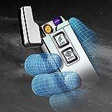Kivors® Neue Version elektronisches Feuerzeug tragbar USB aufladbar lichtbogen für Kivors® Neue Version elektronisches Feuerzeug tragbar USB aufladbar lichtbogen