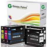 Greenpoint 5 Multipack Tintenpatronen Kompatibel zu Canon Maxify PGI-2500XL BK/C/Y/M MB5350 MB5450 Series MB5050 iB4050