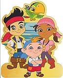 Jake und die Nimmerland Piraten–Stand up Geburtstagskarte
