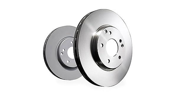 Set of 2 ATE 24.0122-0115.1 Brake Disc Rotors